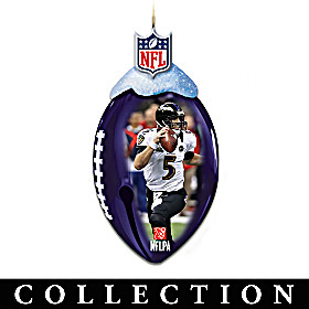 Baltimore Ravens FootBells Ornament Collection