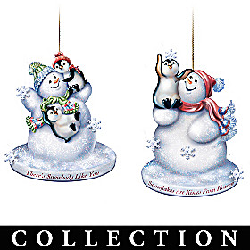 The Warmth Of Christmas Ornament Collection