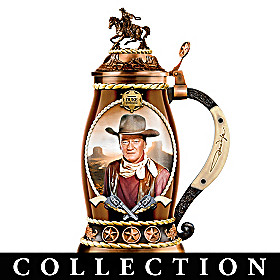 John Wayne, Western Icon Stein Collection