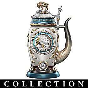 Buffalo Nickel Stein Collection