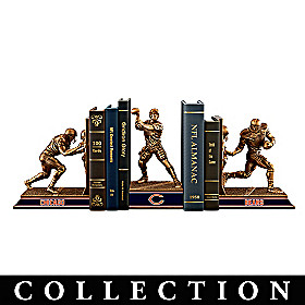 Chicago Bears Legacy Bookends Collection