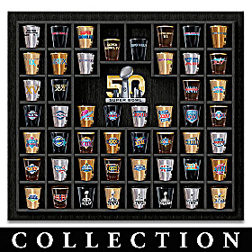 Super Bowl Shot Glass Collection