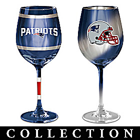New England Patriots Wine Glass Collection