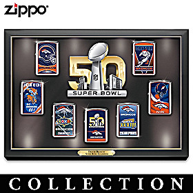 Super Bowl Champions Broncos Zippo® Lighter Collection