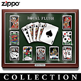 The Ultimate Poker Zippo® Lighter Collection