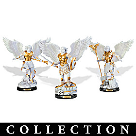Archangels, Holy Protectors Sculpture Collection