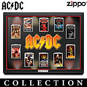 AC/DC Light It Up! Zippo® Lighter Collection