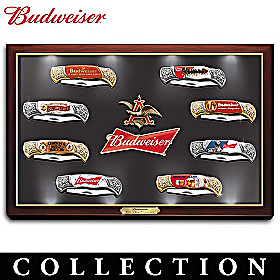 Budweiser: The King Of Beers Knife Collection