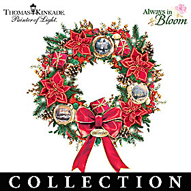 Thomas Kinkade Splendor Through The Year Wreath Collection