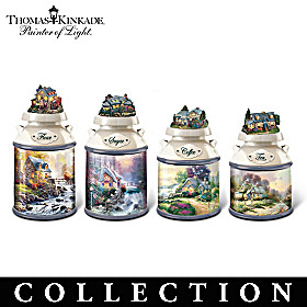Thomas Kinkade Home Sweet Home Canister Collection