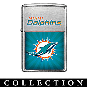 Legendary Miami Dolphins Zippo® Lighter Collection