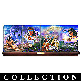 Summoning Of The Spirits Collector Plate Collection