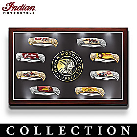 Indian Motorcycle Legacy Knife Collection