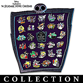 The Nightmare Before Christmas Pin Collection