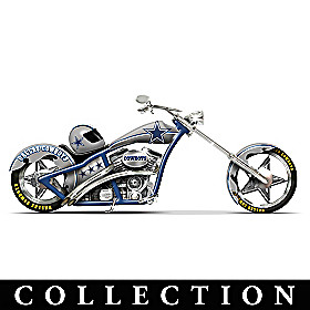 Dallas Cowboys Motorcycle Figurine Collection