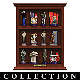 U.S.M.C. Curio Figurine Collection
