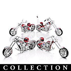 Philadelphia Phillies Motorcycle Figurine Collection