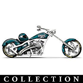 Philadelphia Eagles Motorcycle Figurine Collection
