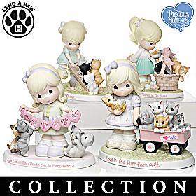 Purr-ecious Moments Together Figurine Collection