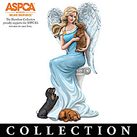 ASPCA's Paw-fect Angelic Blessings Figurine Collection
