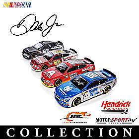 Dale Jr. Race To The Finish Sculpture Collection