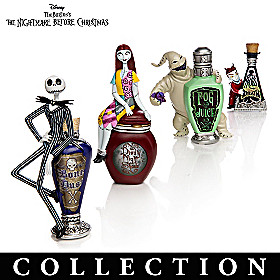 Nightmare Before Christmas Wicked Brew Figurine Collection