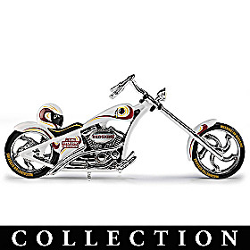 Washington Redskins Motorcycle Figurine Collection