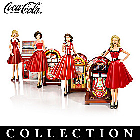 Rockin' With COCA-COLA Figurine Collection