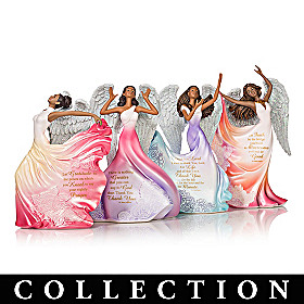 Maya Angelou's Angels Of Inspiration Figurine Collection