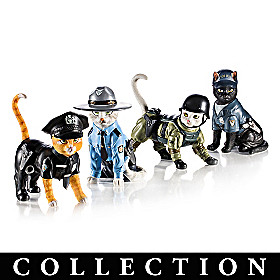 To Purr-tect & Serve Figurine Collection