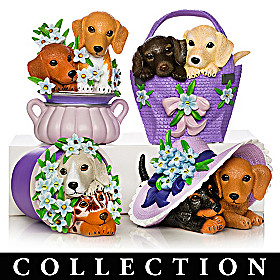 Love Never Paw-gets Dachshund Figurine Collection