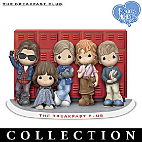 Precious Moments The Breakfast Club Figurine Collection