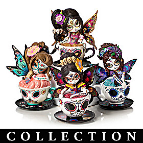 Tea With The Spirits Figurine Collection