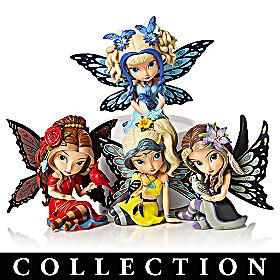 Jasmine Becket-Griffith Songbird Fairies Figurine Collection