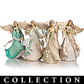 Karen Hahn On Wings Of Love Figurine Collection