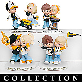 Precious Moments Packers Pride Figurine Collection