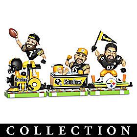 Steelers On Track For The Win Figurine Collection