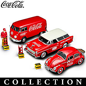 On The Road With COCA-COLA Diecast Car Collection