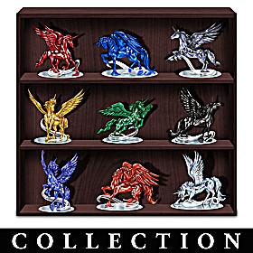 Rarest Gem Unicorns Of The World Figurine Collection