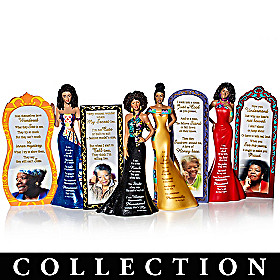 Dr. Maya Angelou Phenomenal Woman Figurine Collection