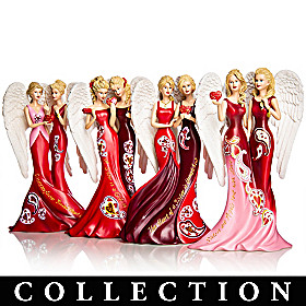 Sisters Of Heartfelt Promises Figurine Collection