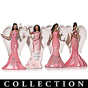 Endearing Angels Of Elegance Figurine Collection