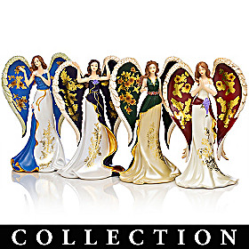 Lena Liu On Wings Of Gold Figurine Collection