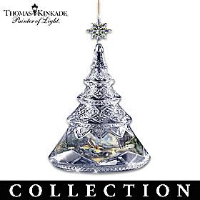Thomas Kinkade Crystal Holidays Ornament Collection