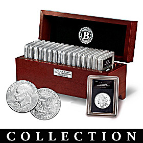 Complete U.S. Silver Dollar Denver Mint Coin Collection
