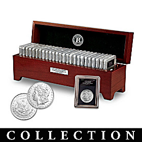 "The Complete ""O"" Morgan Silver Dollar Coin Collection"