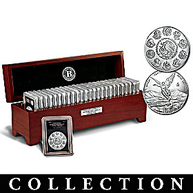 The Complete 99.9% Silver Libertad Coin Collection