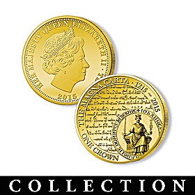 The Legacy Of Freedom Golden Crown Coin Collection