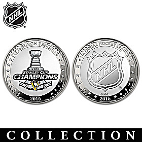 Penguins® 2016 Stanley Cup® Proof Coin Collection