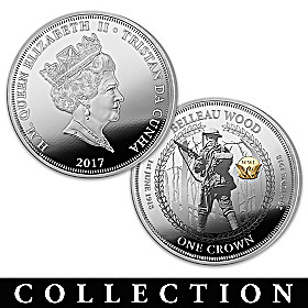 The 100th Anniversary Of U.S. In WWI Coin Collection